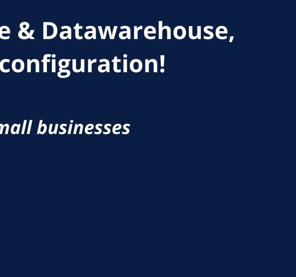 Qlik Sense & Datawarehouse, the ideal configuration