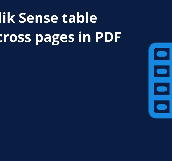 Repeat Qlik Sense table header across pages